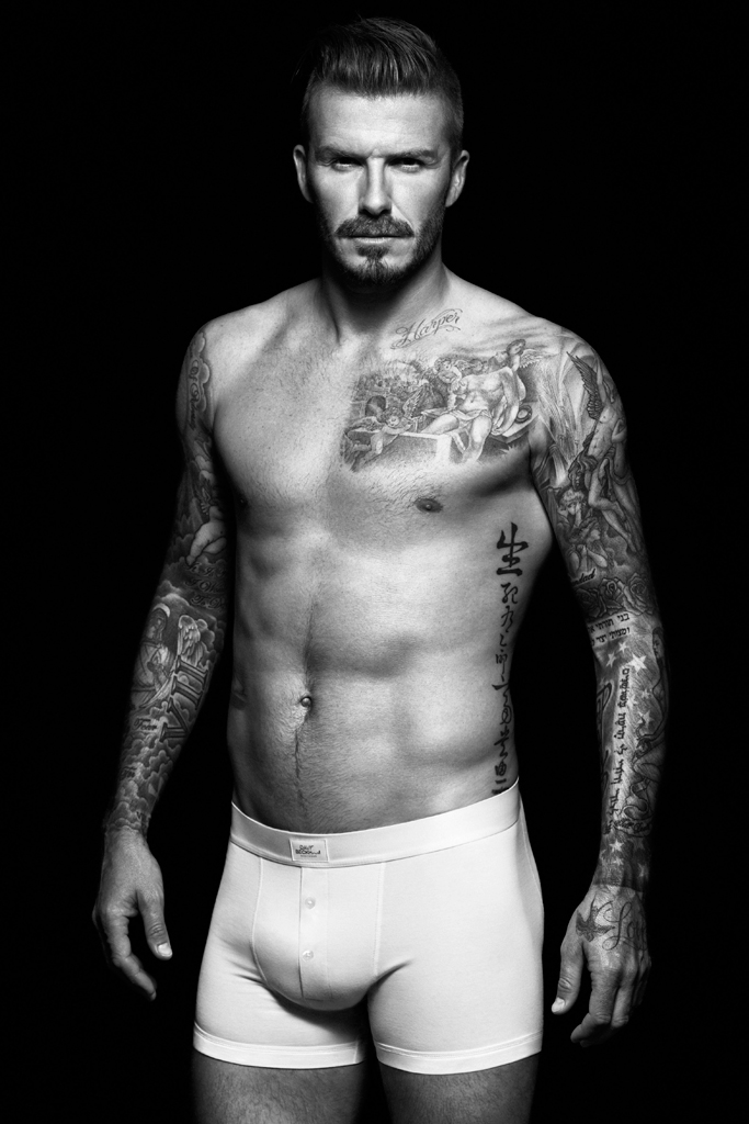 david beckham for hm bodywear campaign