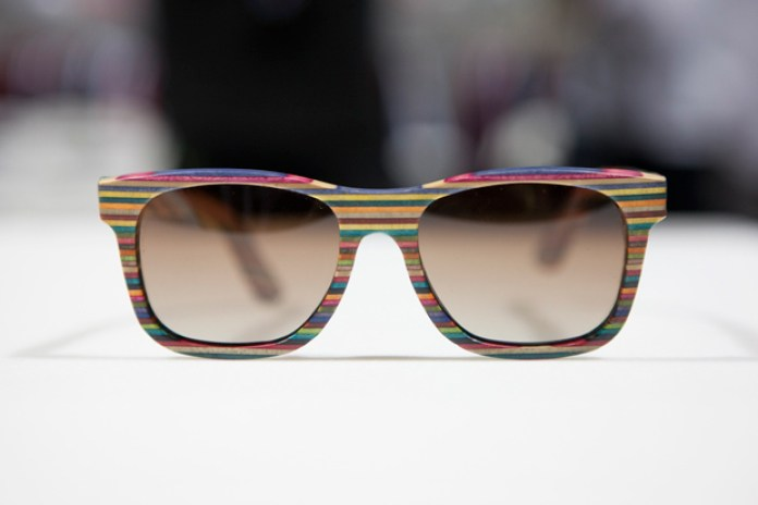 Agenda Long Beach: Diamond Supply Co. Recycled Skateboard Sunglasses Preview