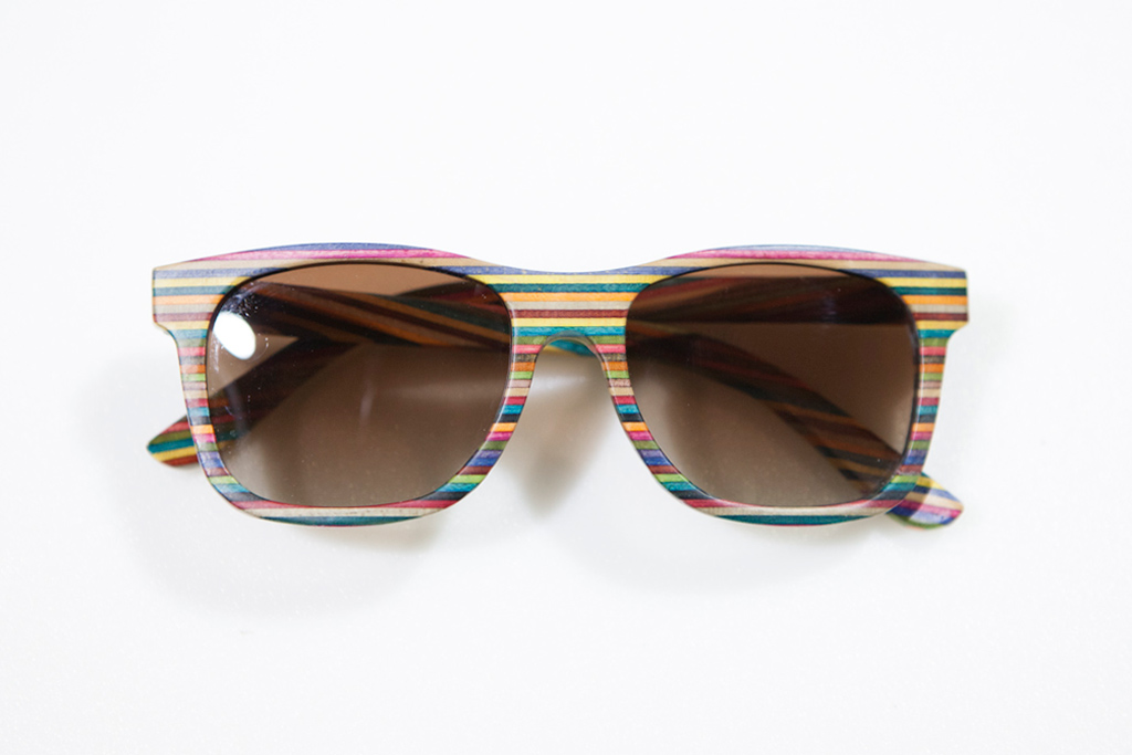 agenda long beach diamond supply co recycled skateboard sunglasses preview