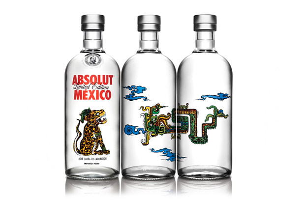 dr lakra x absolut vodka bottles pay homage to mexican culture