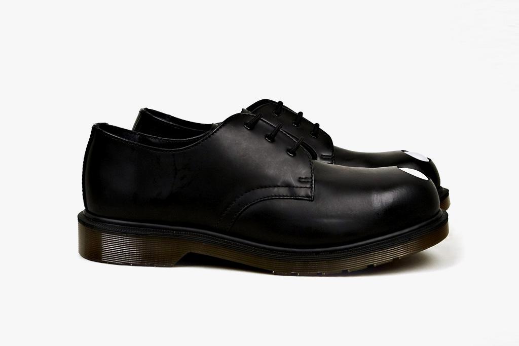 Dr. Martens Applique Keaton Steel-Toe Cap Shoe