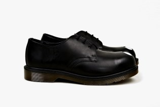 Dr. Martens Applique Keaton Steel-Toe Cap Shoe