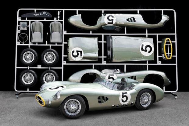 Evanta Aston Martin DBR1 1:1 Scale Model
