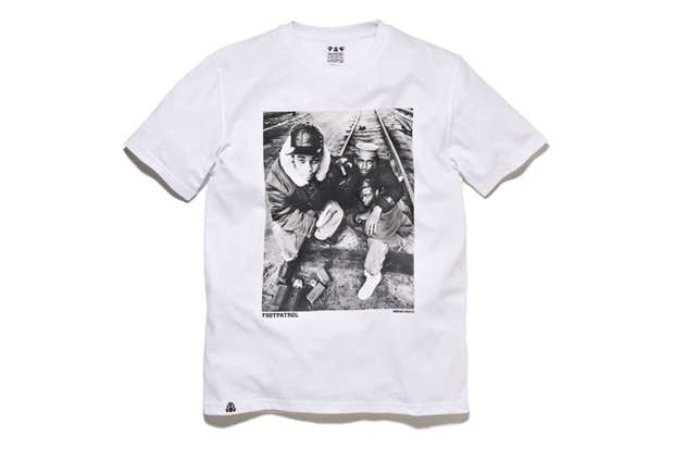 Normski x Classic Material x Foot Patrol Hip-Hop T-Shirt Collection