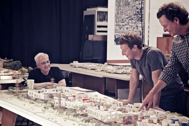 Frank Gehry to Design Facebook HQ Expansion