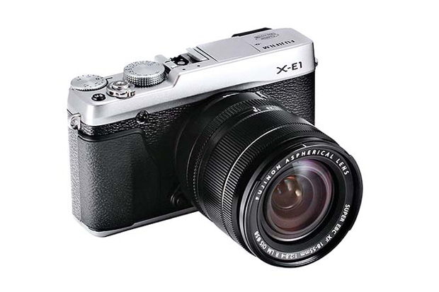 fujifilm x e1 mirrorless camera
