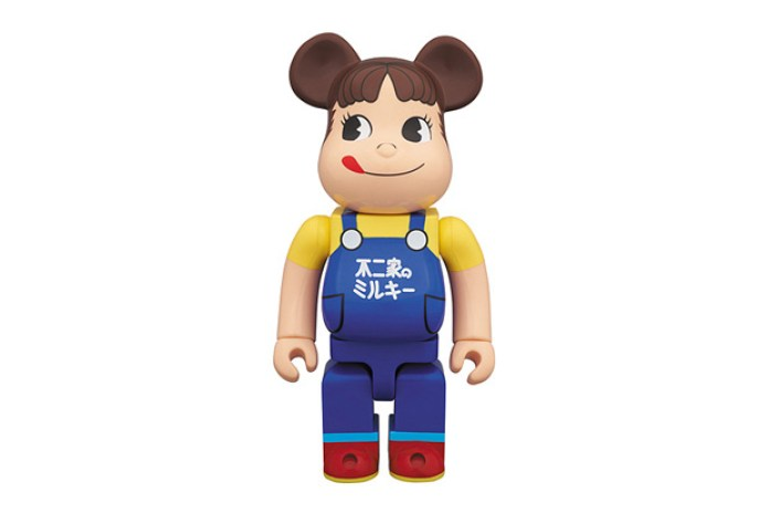 Fujiya Co. x Medicom Toy 400% Peko-Chan Bearbrick