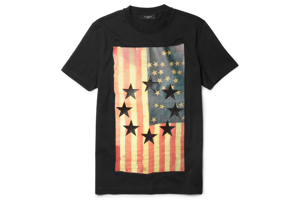 Givenchy Flag-Print T-Shirt