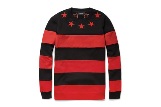 Givenchy Striped Cotton Jersey Sweater