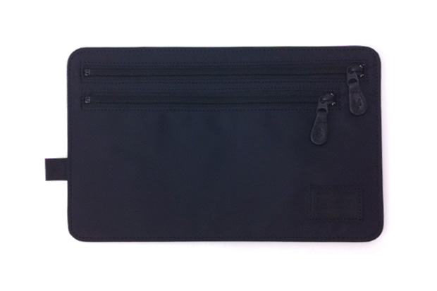 fragment design x head porter black beauty currency case