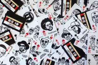 Hip-Hop's All-Time Greatest Immortalized in Illustrated Playing Cards