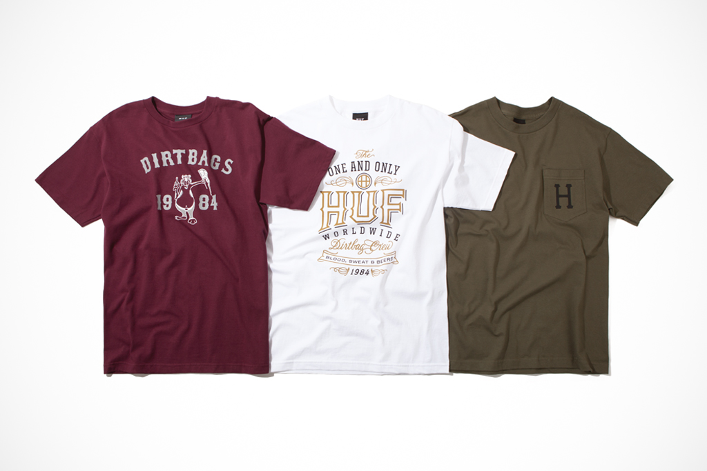 HUF 2012 Fall/Winter Collection Delivery 1