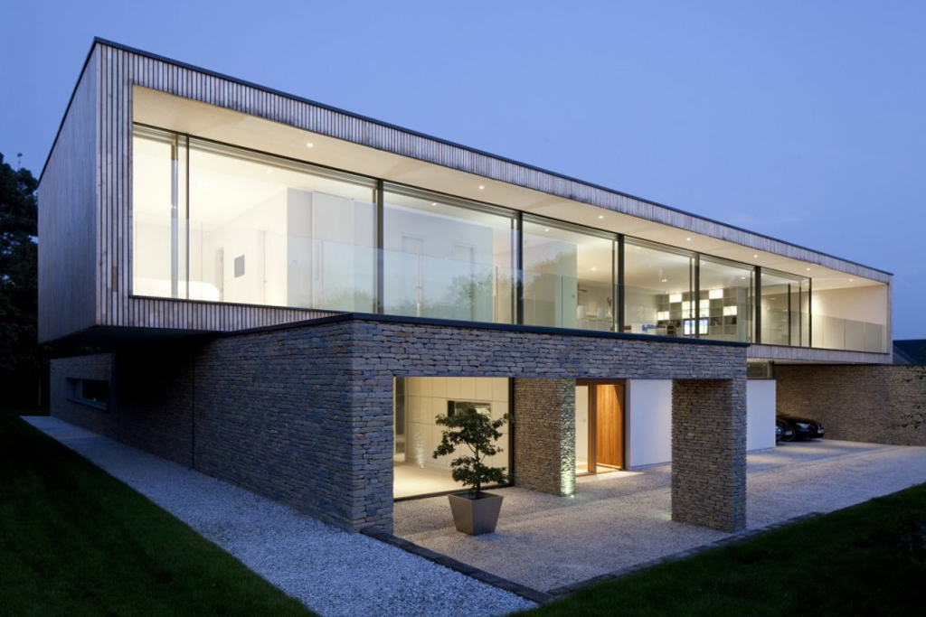 hurst house by john pardey architects and strom architects