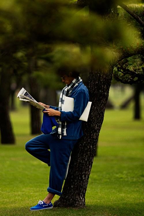 "HYPEBEAST Magazine: ""NONCHALANT"" Editorial by Akio Hasegawa"