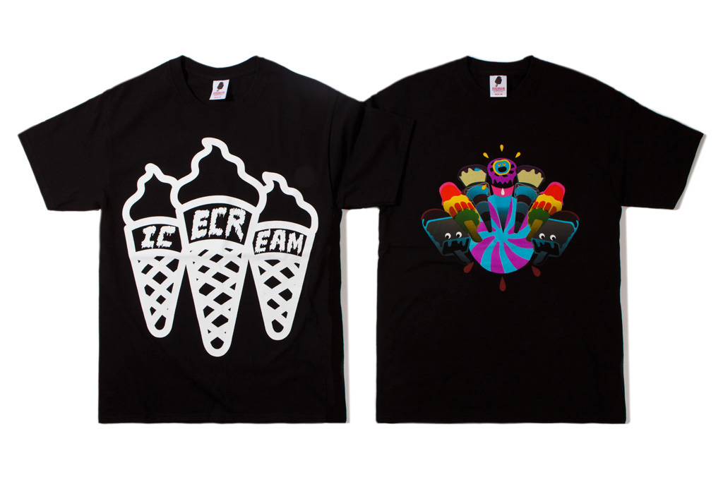 ICECREAM 2012 Fall/Winter T-Shirt Collection