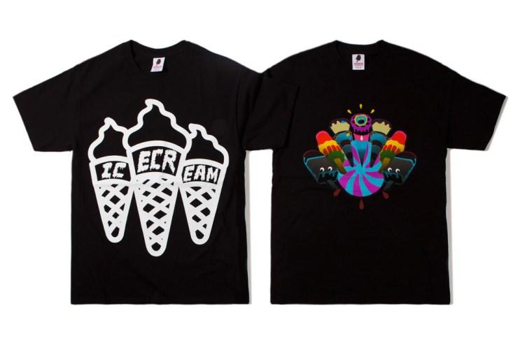 ICECREAM 2012 Fall/Winter T-Shirt Collection