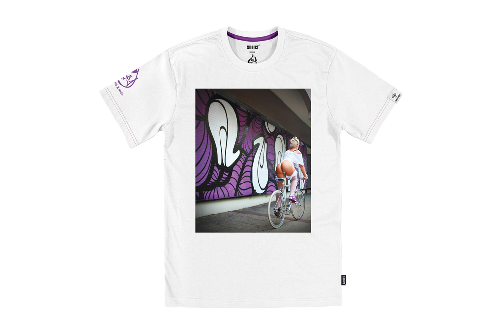 INSA x Addict BIKE GIRLS T-Shirt Collection