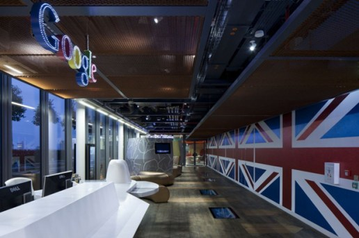 Inside Google's New London Headquarters