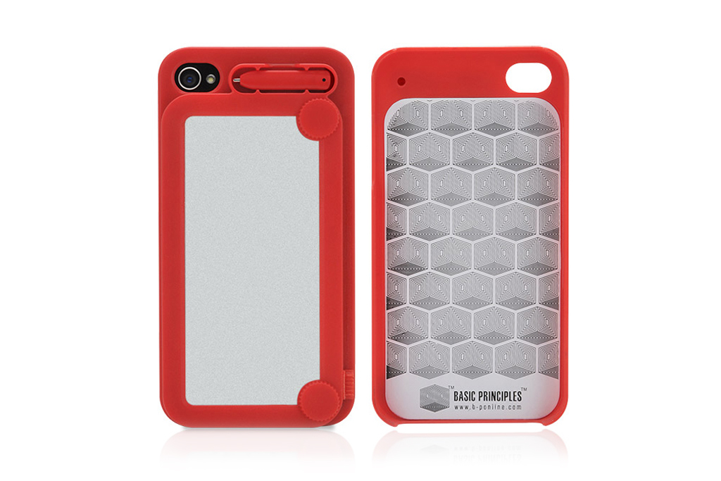 iphone 4 4s drawing case by memotty