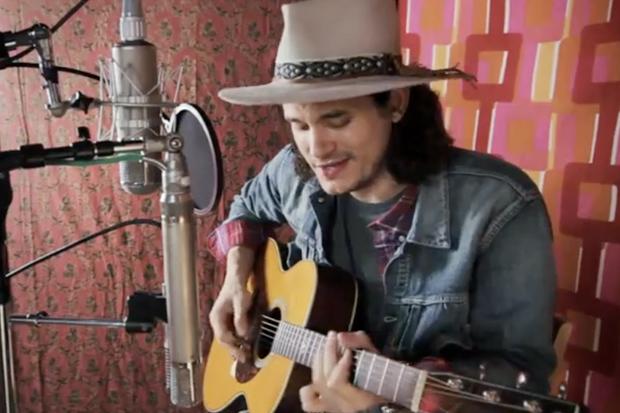 "John Mayer Performs ""Something Like Olivia"""
