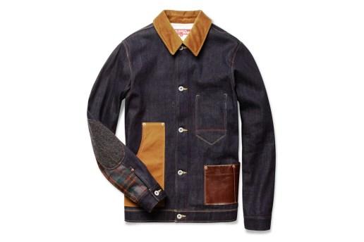 JUNYA WATANABE x Levi's Contrast-Panel Denim Jacket