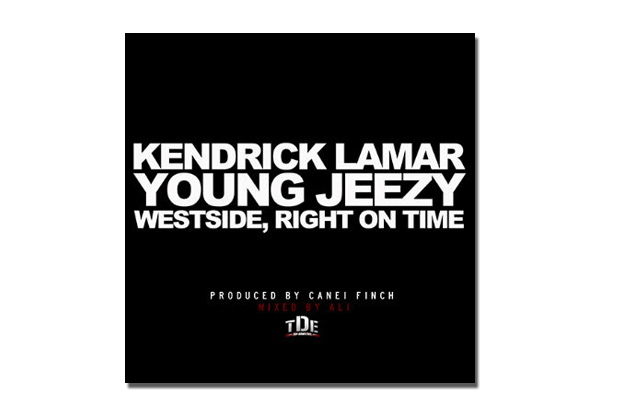 kendrick lamar featuring young jeezy westside right on time