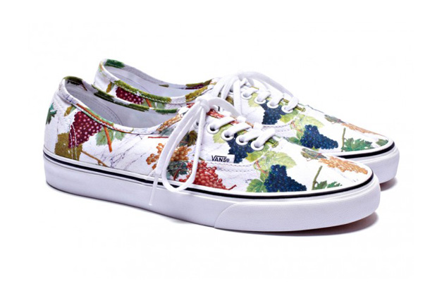 "Kenzo x Vans Authentic ""Grape"" Pack"