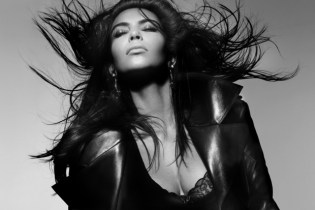 Kim Kardashian for V Magazine by Nick Knight