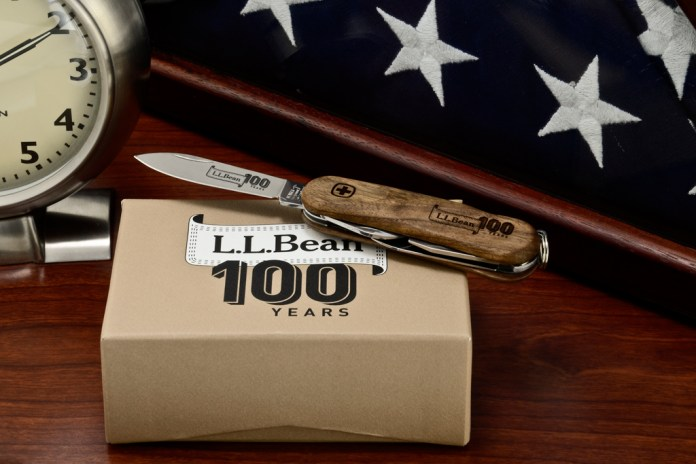 L.L. Bean x Wenger 100th Anniversary EvoWood Swiss Army Knife
