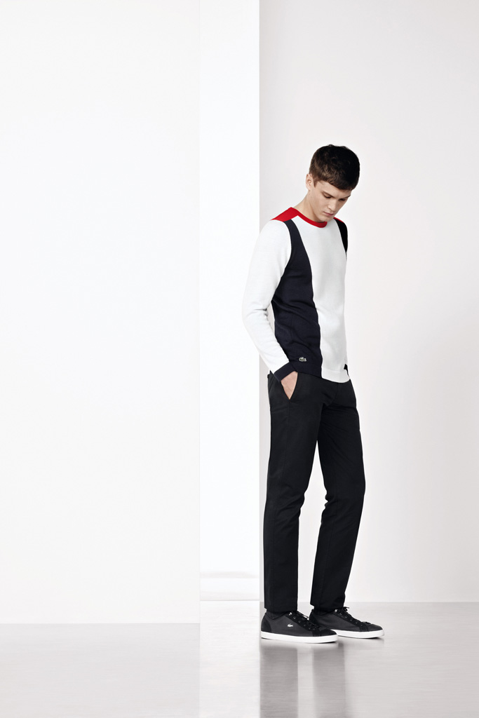 lacoste color blocking collection 2012 fall winter
