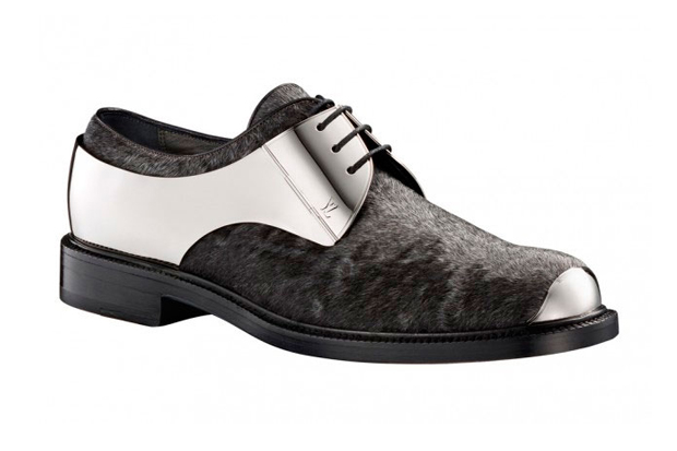 Louis Vuitton Metal Lace-Up Shoes