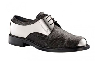 Louis Vuitton Metal Lace-Up Shoes
