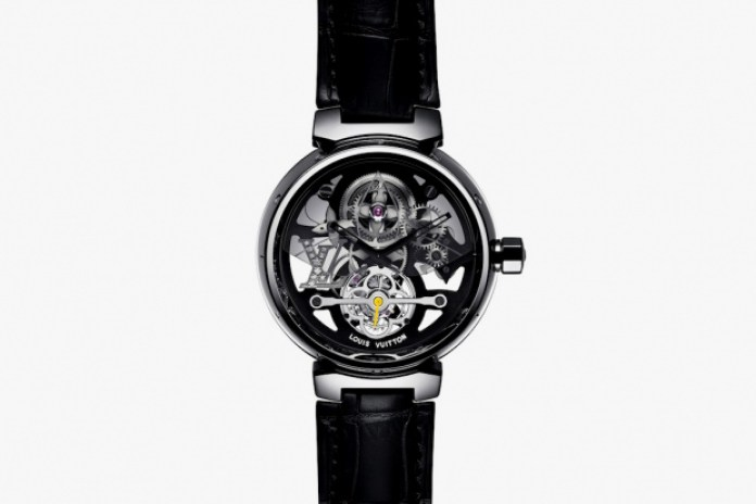 Louis Vuitton Tambour Monogram Tourbillon