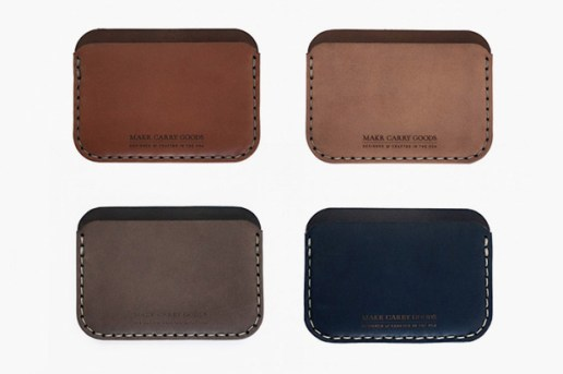 Makr Carry Goods Round Wallet