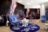"""Marilyn Minter """"Kicksilver"""" Installation @ Mondrian SoHo Hotel"""