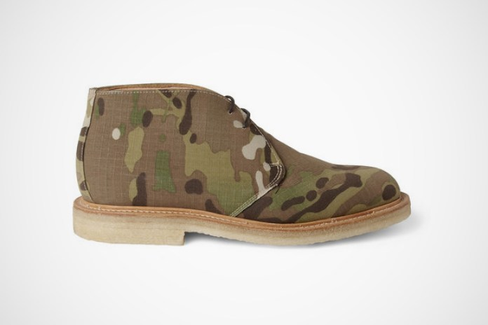 Mark McNairy Camouflage Canvas Desert Boots