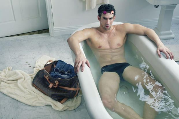 Michael Phelps for Louis Vuitton Ad Campaign