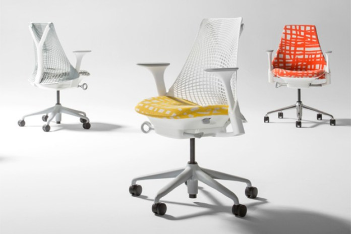 Minnie Pwerle x Herman Miller SAYL Chair