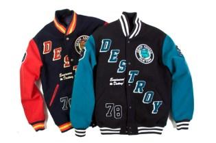 Mishka Retro Destroy Varsity Jacket