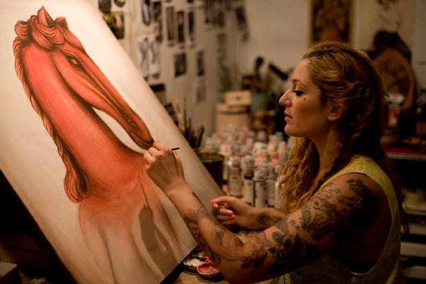 "Miss Van ""Wild at Heart"" Exhibition @ Copro Gallery"