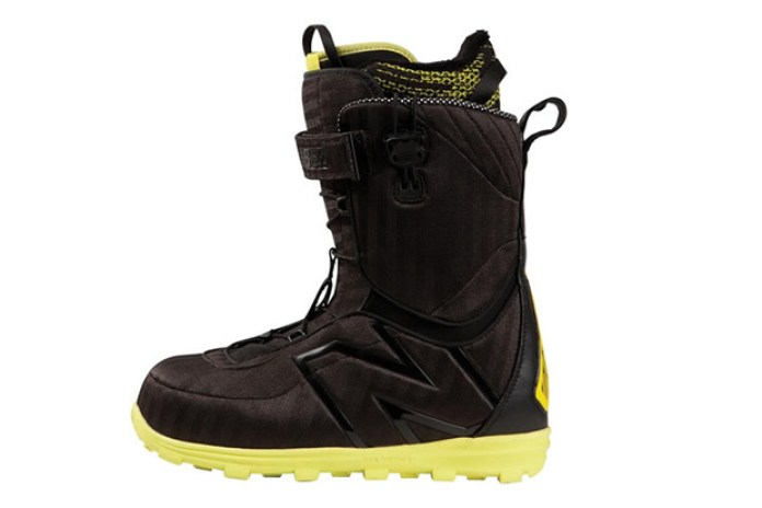 """New Balance x 686 """"THE TIMES LINE"""" 2012 Fall/Winter Snowboard Boot Collection"""