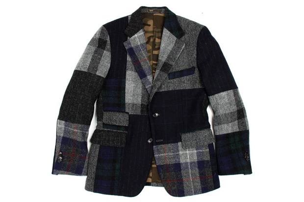 Nick Wooster x United Arrows 2012 Harris Tweed Mallory Jacket