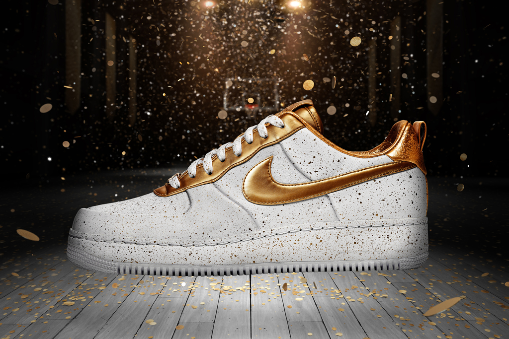 "Nike Air Force 1 XXX ""Gold Medal"""