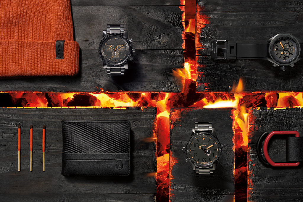 nixon 2012 fall winter lookbook
