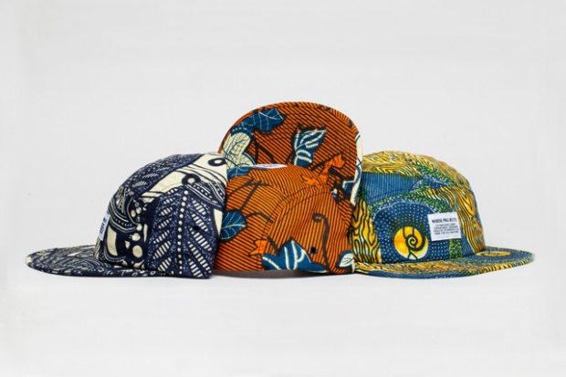 "Norse Projects ""Africa Pack"" 5-Panel Caps"