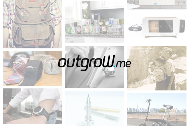outgrow me is the place to buy all successfully funded kickstarter indiegogo products