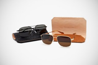 Parabellum x Oliver Peoples Lindford Aviator