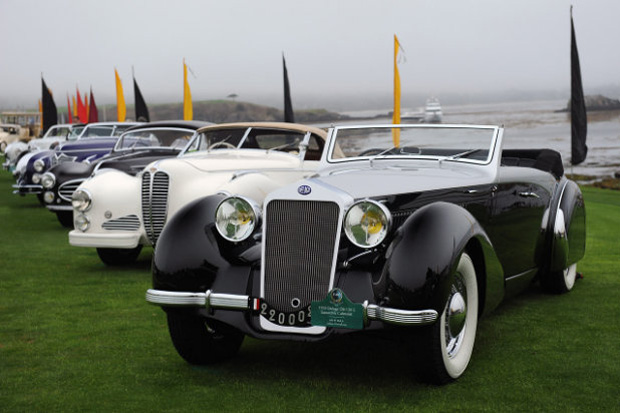 Pebble Beach Tour d'Elegance 2012