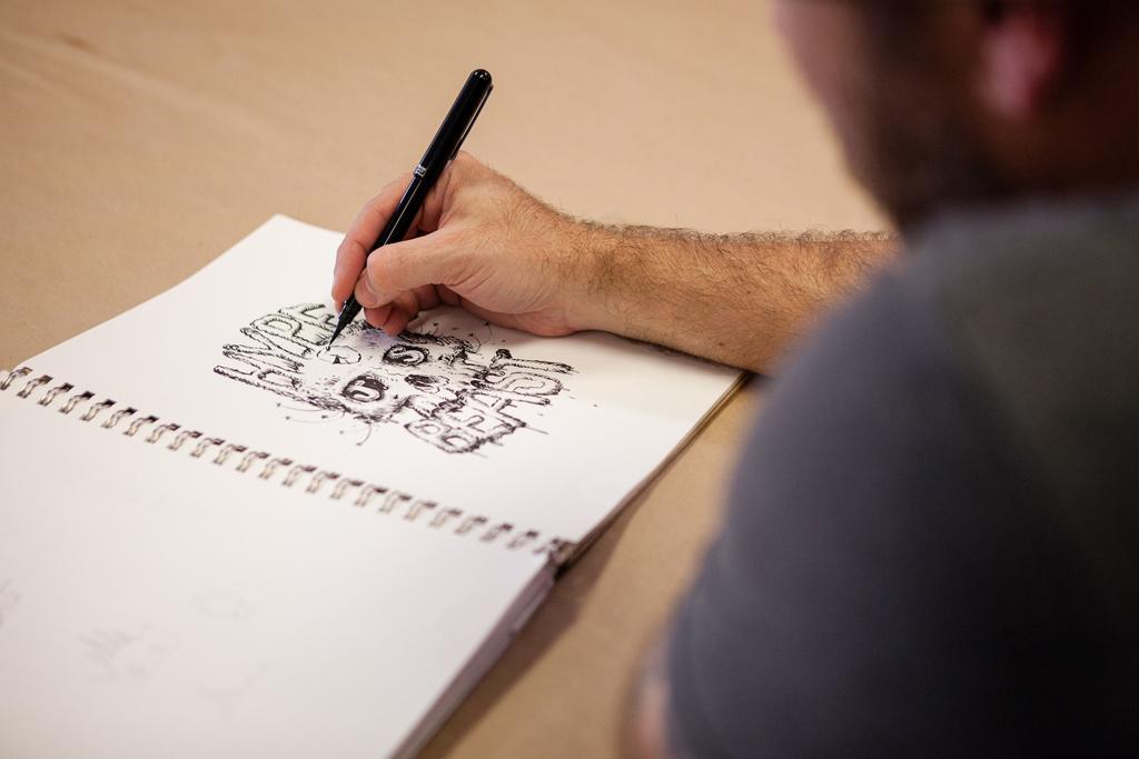 Pen & Paper: Jeff Soto