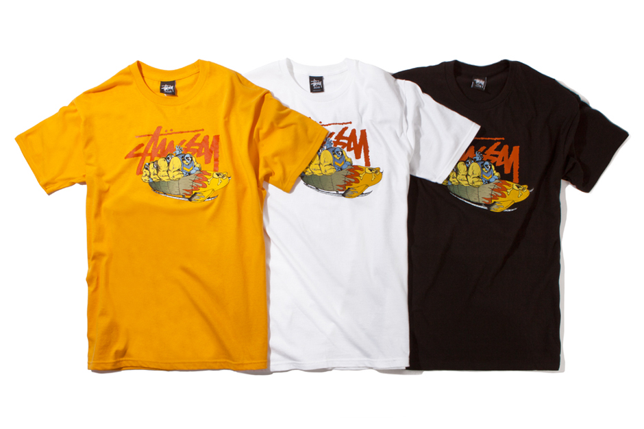 pierre bolide x stussy 2012 fall collection
